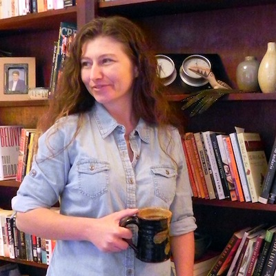 tara-caimi holding coffee mug